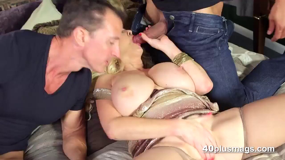 Big Tit Milf Double Handjob